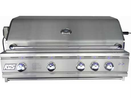 RCS 38 Cutlass Pro Series Grill Blue LED W/Rear Burner - Propane