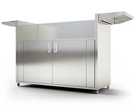 RCS Grills Stainless Cart for RON42a Grill