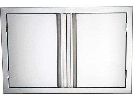 RCS Grills Valiant 33 Inch Wide Stainless Double Door