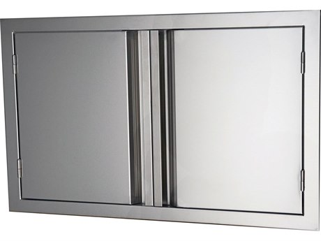 RCS Grills Valiant 45 Inches Wide Stainless Double Door