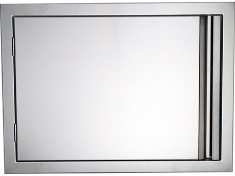 RCS Grills Valiant 27 Inch Stainless Horizontal Reversible Door