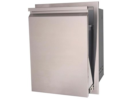 RCS Grills Valiant 20 Inch Stainless Steel Fully Enclosed Trash Drawer