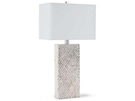 Regina Andrew Platinum Silver Buffet Lamp
