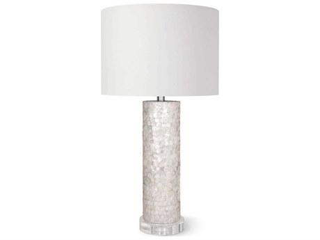 Regina Andrew Scalloped Natural Capiz Buffet Lamp