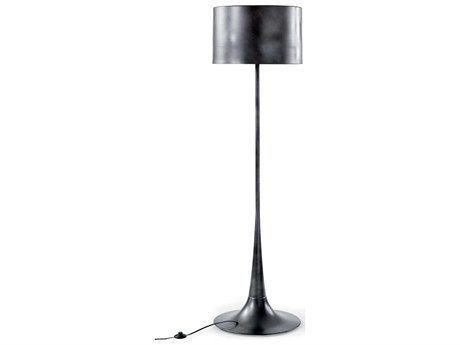 Regina Andrew Trilogy Black Iron Floor Lamp