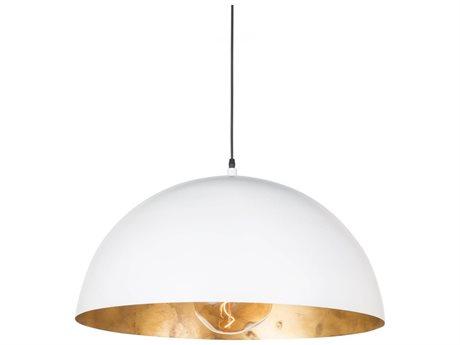 Regina Andrew Sigmund White & Gold 24'' Wide Pendant Light REG161091WT