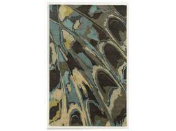 Rizzy Home Bradberry Downs Rectangular Gray & Blue Area Rug