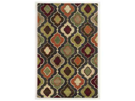 Rizzy Home Bradberry Downs Rectangular Green Area Rug