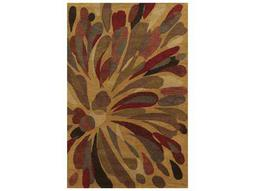 Rizzy Home Bradberry Downs Rectangular Gold Area Rug