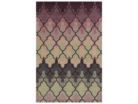 Rizzy Home Bradberry Downs Rectangular Purple Area Rug