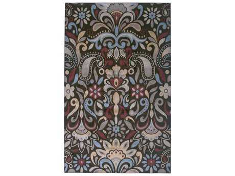Rizzy Home Bayside Rectangular Brown Area Rug