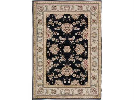 Rizzy Home Bayside 9' x 12'6'' Rectangular Black Area Rug