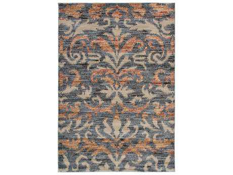 Rizzy Home Bayside Rectangualr Gray Area Rug
