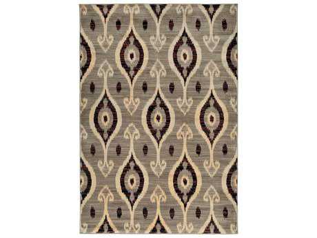 Rizzy Home Bayside Rectangular Beige Area Rug