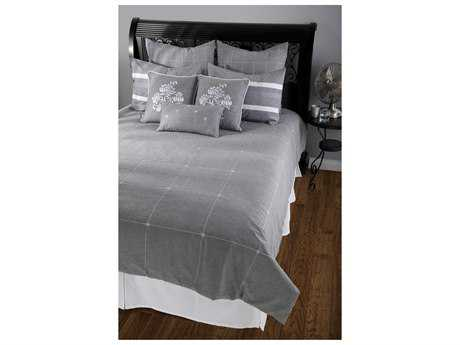 Rizzy Home Paris Gray Duvet Bed Set
