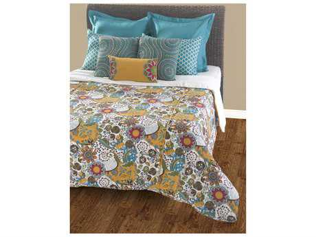 Rizzy Home Carmen Teal Duvet Bed Set