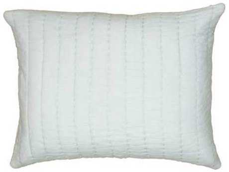 Rizzy Home Gracie Light Blue & Ivory Sham