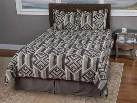 Rizzy Home Tacton Spur Grey Bedding Set