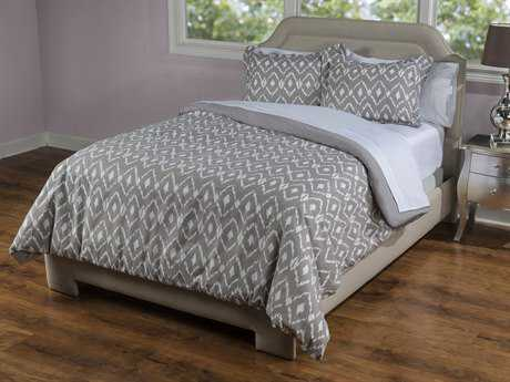 Rizzy Home Kalaloo Taupe & Natural Bedding Set