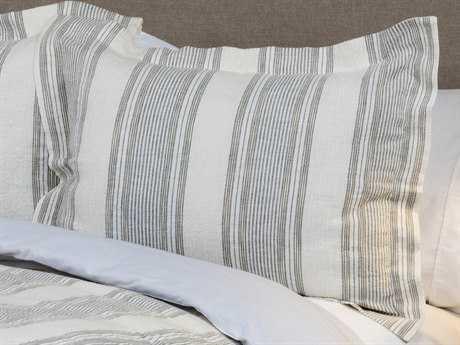 Rizzy Home Prescott Preserve Linen Charlton Gray King Sham