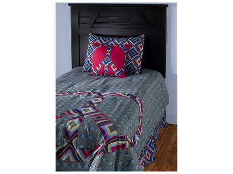 Rizzy Home Peace Blue Full/Queen Comforter Bed Set