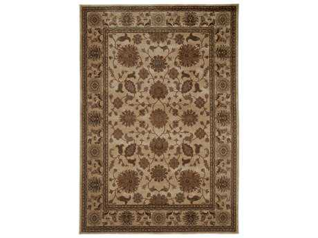 Rizzy Home Bellevue Rectangular Beige Area Rug
