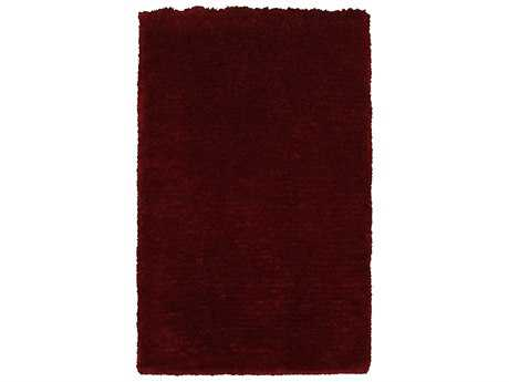 Rizzy Home Commons Rectangular Red Area Rug