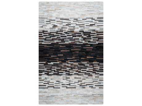 Rizzy Home Cumberland Pass Rectangular Beige Black & Grey Area Rug
