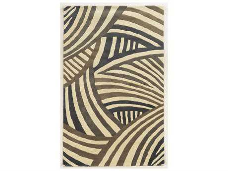 Rizzy Home Fusion Rectangular Ivory Area Rug