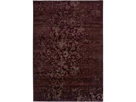 Rizzy Home Galleria Rectangular Red Area Rug