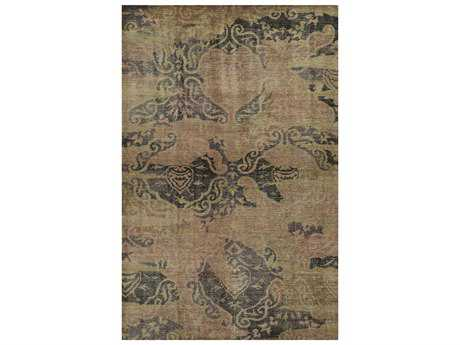 Rizzy Home Maison Rectangular Brown Area Rug