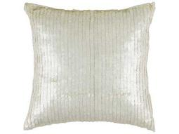 Rizzy Home White Pillow Cover