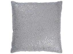 Rizzy Home Gray Pillow Cover