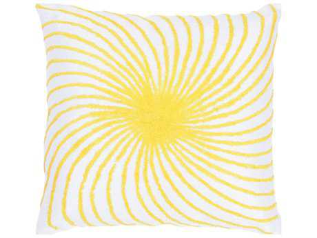 Rizzy Home Yellow Pillow Cover