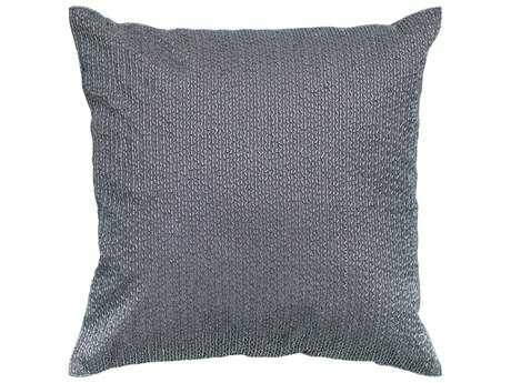 Rizzy Home Silver Pillow Cover