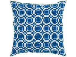 Rizzy Home Cobalt Blue Pillow
