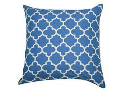 Rizzy Home Marine Blue Pillow Cover