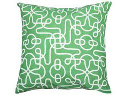 Rizzy Home Green Pillow Cover