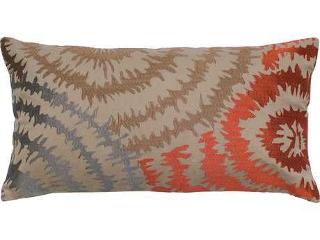 Rizzy Home Tan Pillow Cover