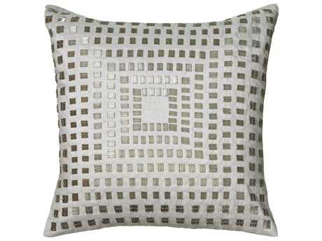 Rizzy Home Ivory Pillow Cover