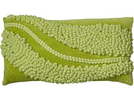Rizzy Home Lime Pillow Cover