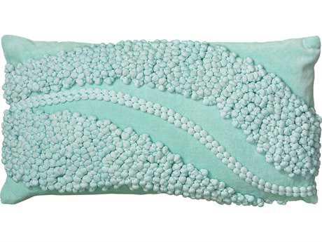 Rizzy Home Aqua Pillow Cover