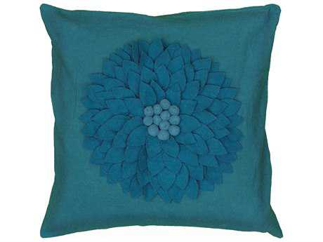 Rizzy Home Turquoise Pillow Cover