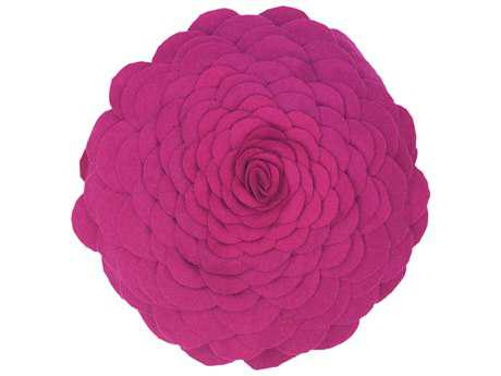 Rizzy Home Magenta Pillow Cover