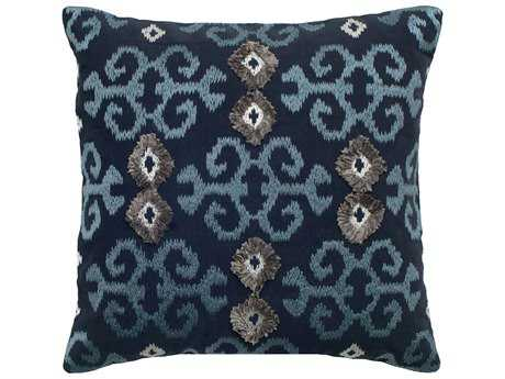 Rizzy Home Navy Pillow Cover