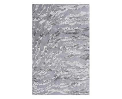 The Rug Market Maison Kiawah Rectangular Gray & Silver Area Rug