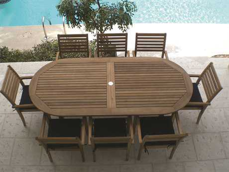Royal Teak Collection Classic Dining Set
