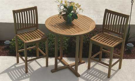 Royal Teak Collection Classic Bar Set