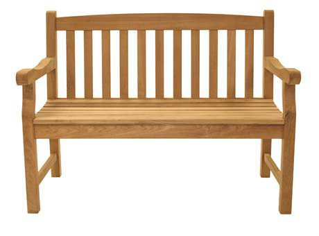Royal Teak Collection Classic Two-Seater Bench PatioLiving