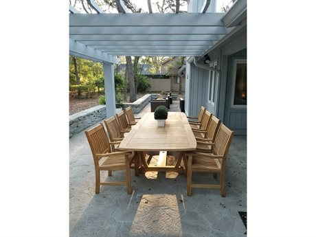 Royal Teak Collection Compass Dining Set